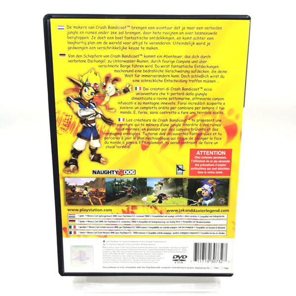 JEU PS2 - JAK AND DAXTER: THE PRECURSOR LEGACY