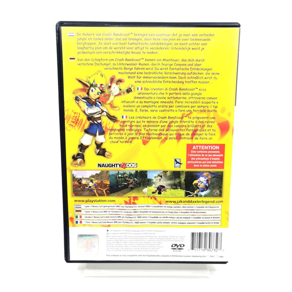 JEU PS2 - JAK AND DAXTER