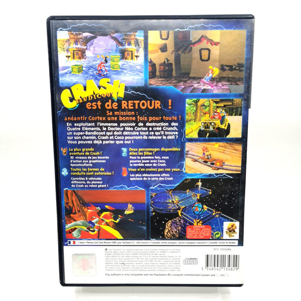 JEU PS2 - CRASH BANDICOOT LA VENGEANCE DE CORTEX