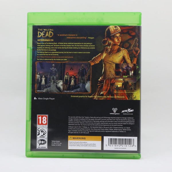 Jeu Xbox One The Walkkng Dead Collection