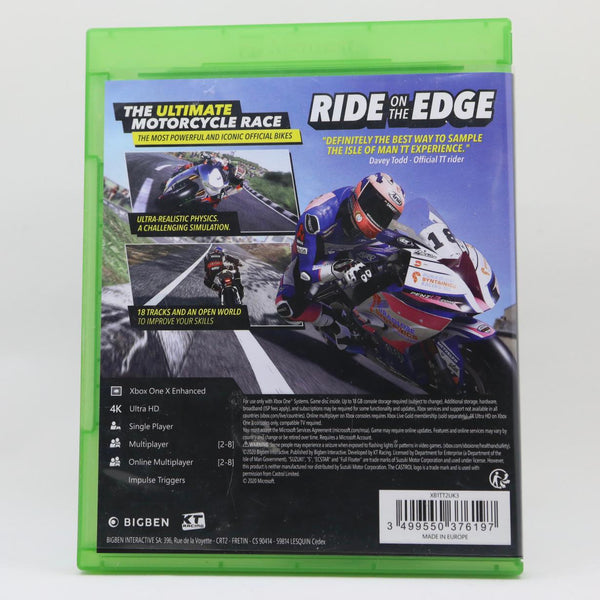 Jeu Xbox One TT Isle of Man 2