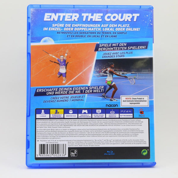 Jeu PS4 Tennis 2 World Tour