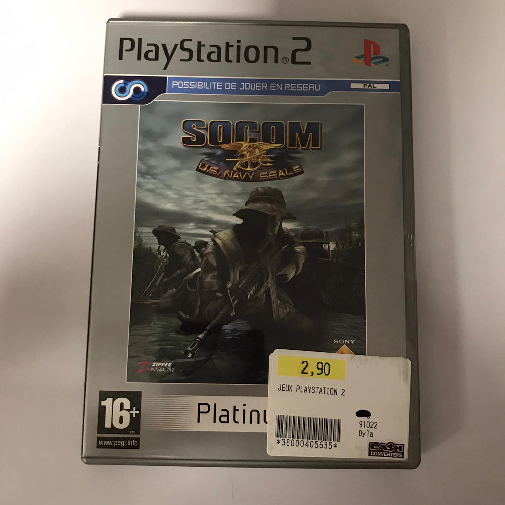 Jeu PS2 Socom US Navy Seals
