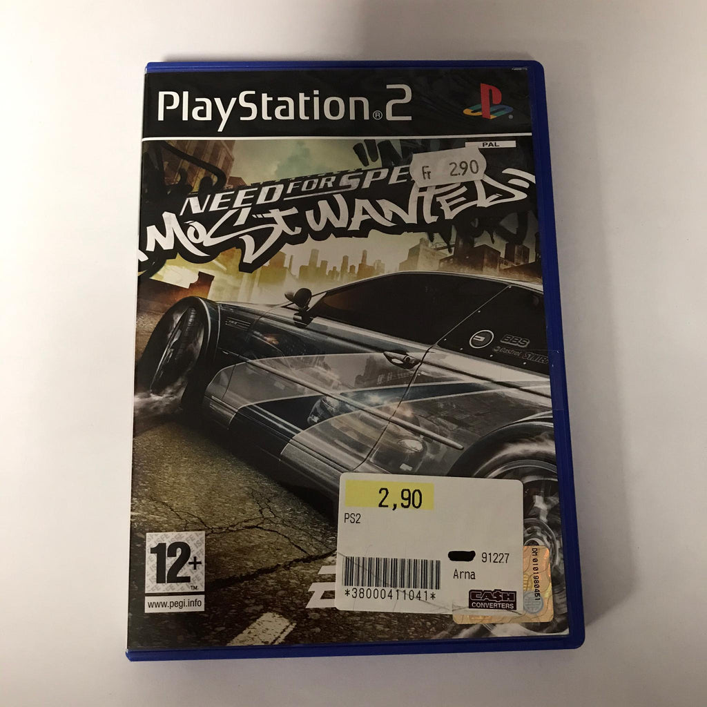 Jeu PS2 Need for speed Most wanted