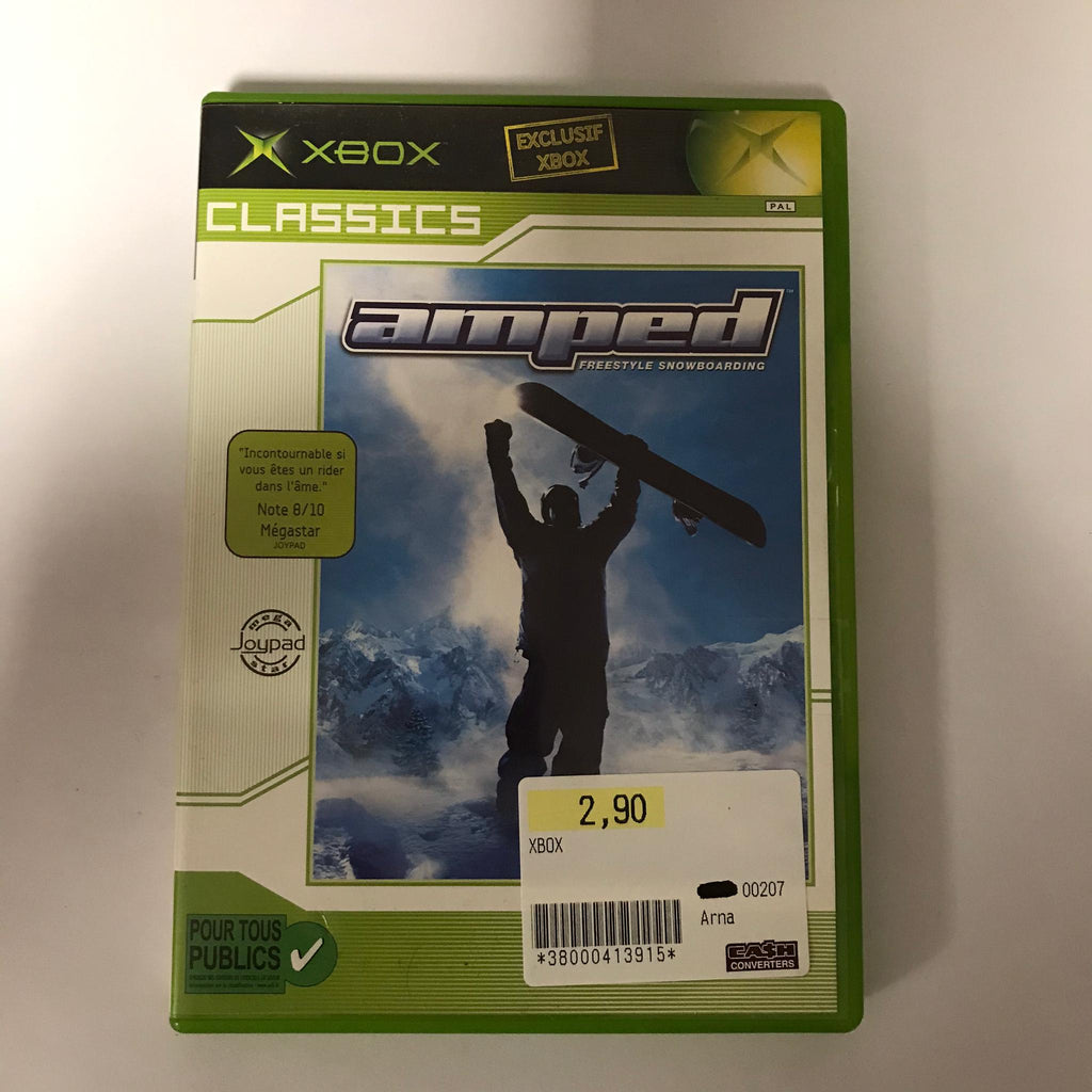 Jeu Xbox Amped Freestyle Snowboarding