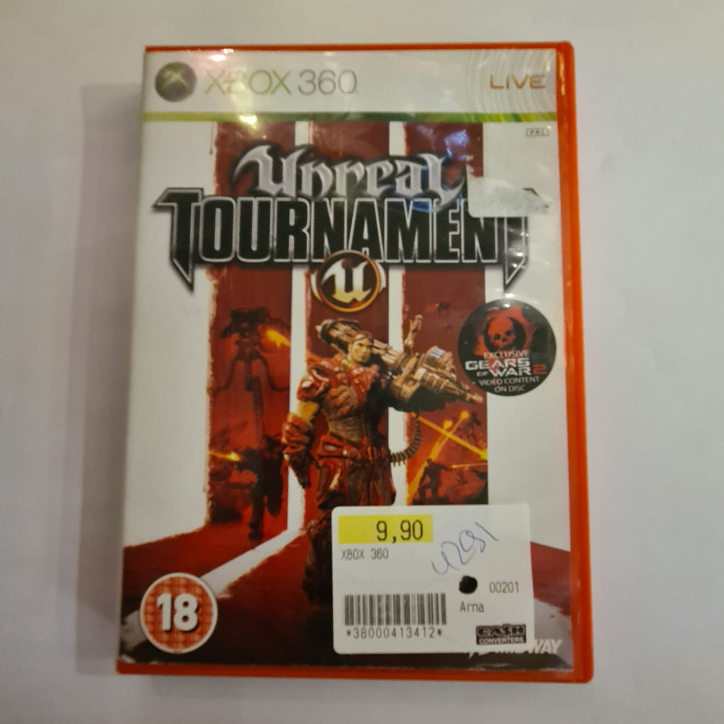Jeu Xbox 360 Unreal Tournament