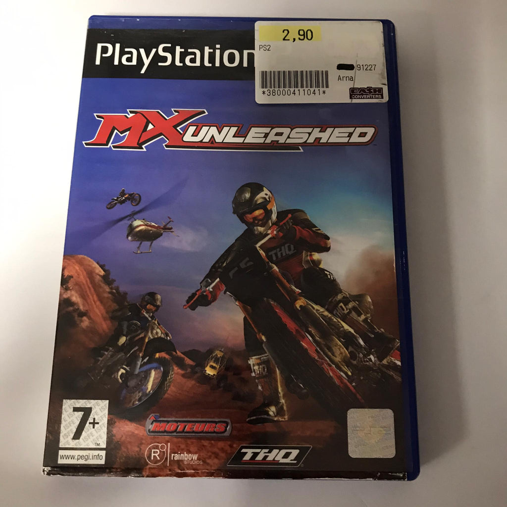 Jeu PS2 MX Unleashed
