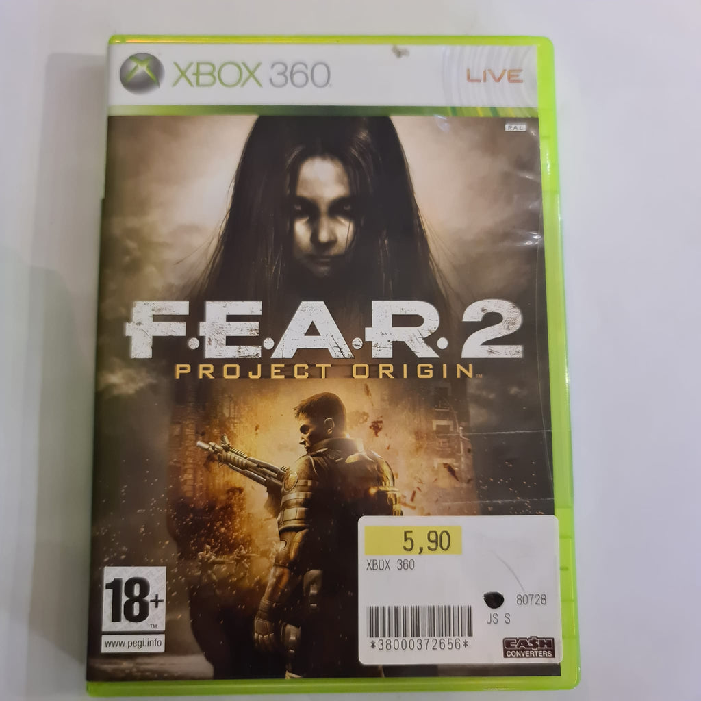 Jeu Xbox 360 FEAR 2 Project Origin