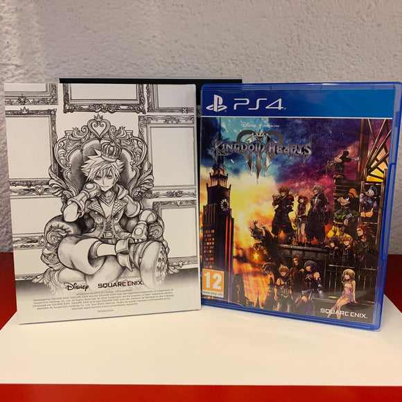 kingdom hearts lll Edition Deluxe PS4