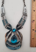 Load image into Gallery viewer, Gorgeous Gypsy Crystal Necklace and Earring Set