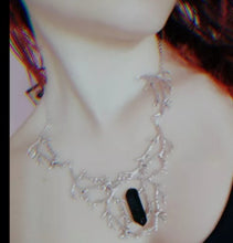 Load image into Gallery viewer, Beautiful Crystal Tree Branch Necklace