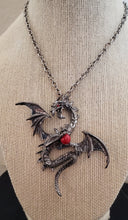Load image into Gallery viewer, Flying Dragon Pendant Necklace