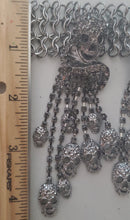 Load image into Gallery viewer, Goth Skull Rhinestone Statement Choker Necklace