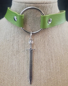 Sword Choker Necklace