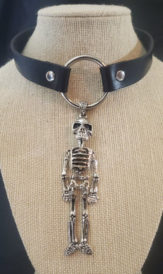Skeleton Choker Necklace