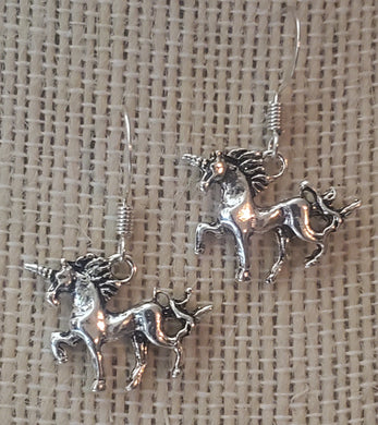 Full Body Unicorn Dangling Earrings
