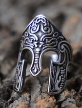 Load image into Gallery viewer, Knights Helmet Mens Ring