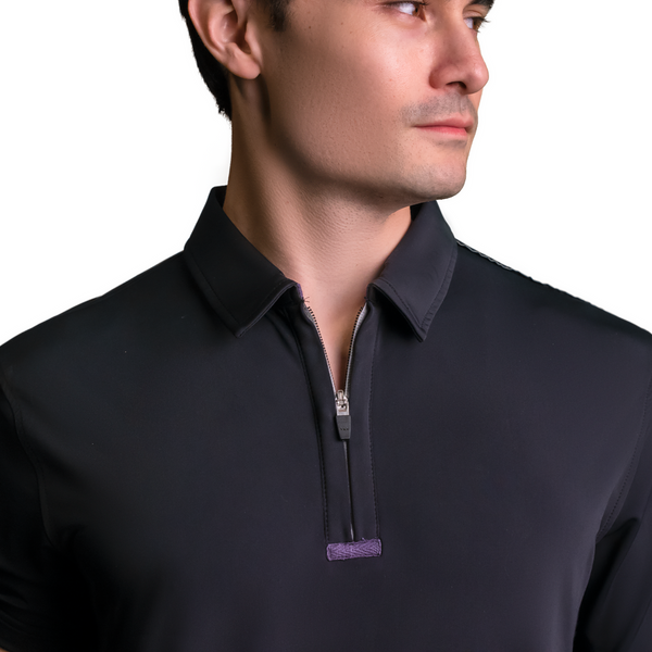"C'-Me ""the Vic"" Zip (Short Sleeve) Sport Shirt"