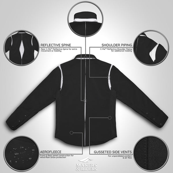 "C'-Me™ ""Bike Lane"" Shirt Jacket"