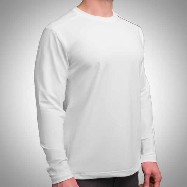 "C'-Me ""Pete"" Round Neck Long Sleeve Sport Shirt"