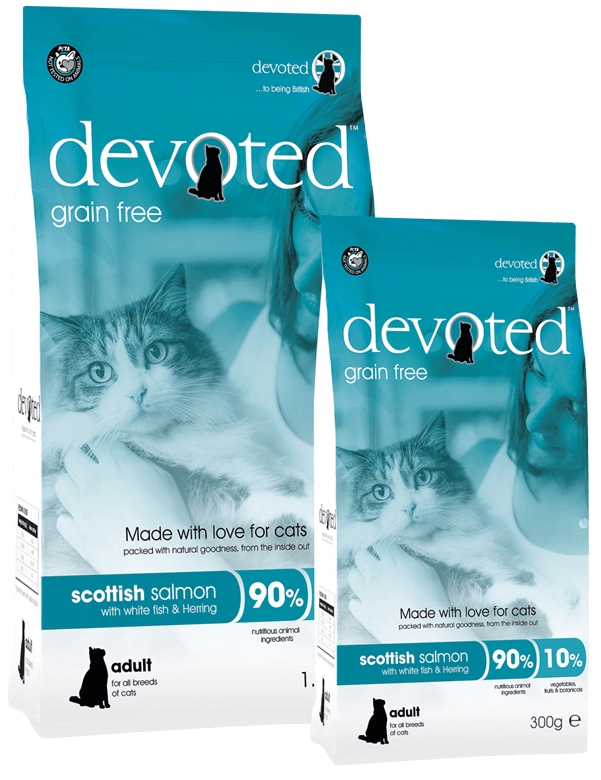Devoted Grain Free Premium Scottish Salmon Adult Cat Food