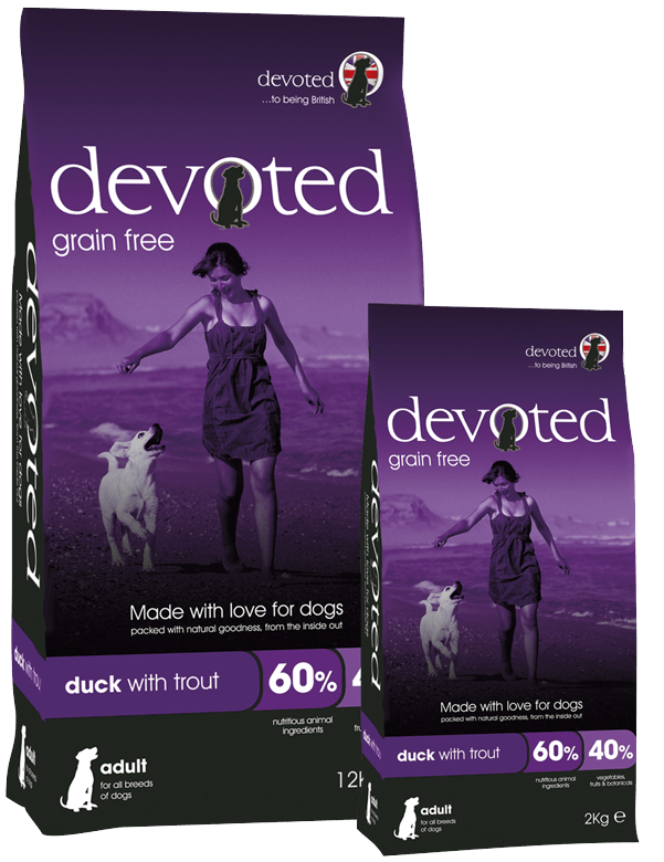 Devoted Grain Free 100% Natural Duck With Trout Dog Food