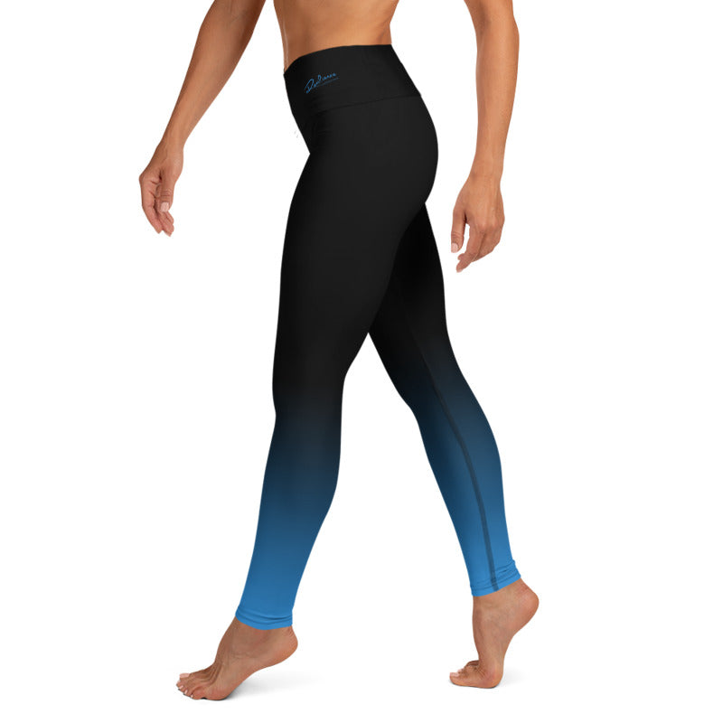 RTYM Blue Shadow Yoga Leggings - Shop: Resilience Through Yoga