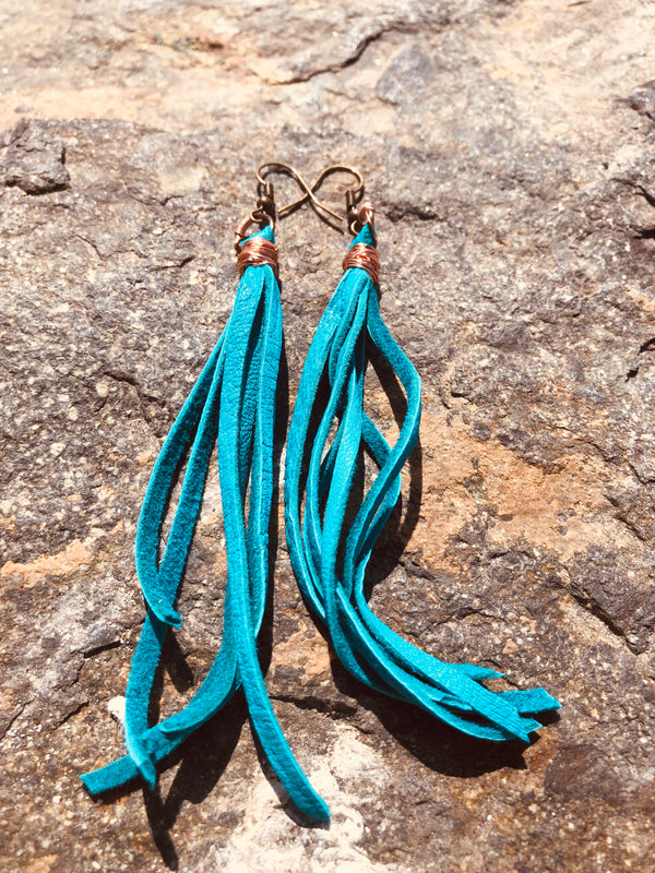 Blue Wave Earrings - Shop: Resilience Through Yoga