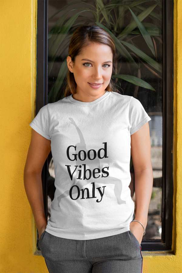 RTYM- Good Vibes- Women's short sleeve t-shirt - Shop: Resilience Through Yoga
