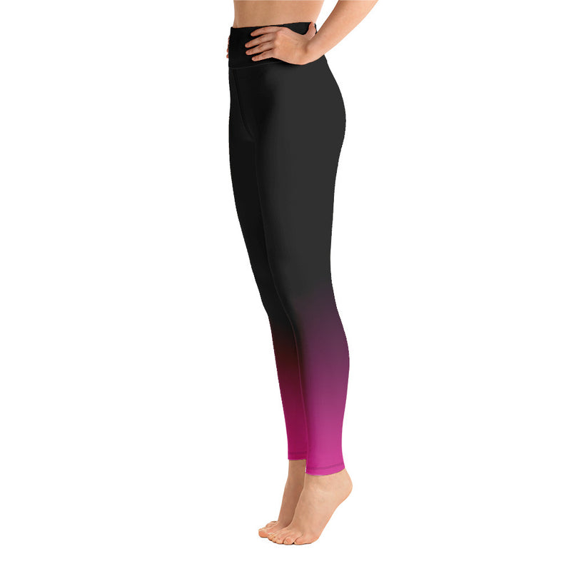 RTYM Evening Mood Pink Yoga Leggings - Shop: Resilience Through Yoga