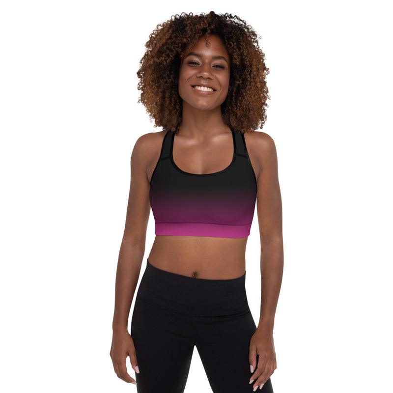 RTYM Padded Sports Bra (Evening Mood Pink) - Shop: Resilience Through Yoga