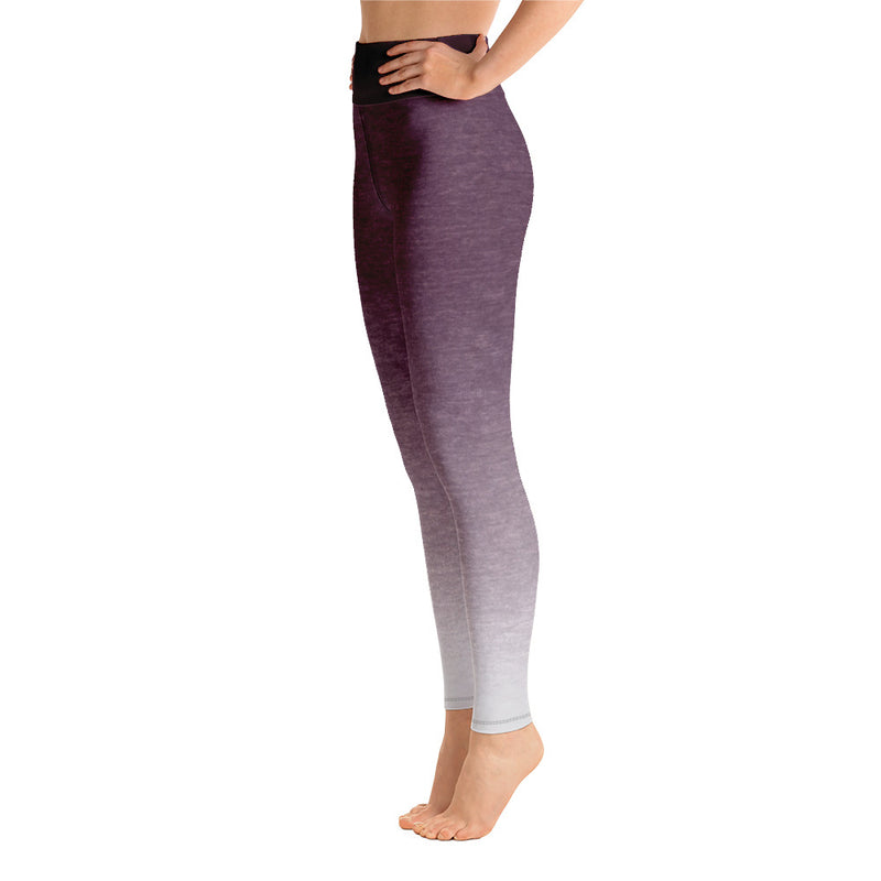RTYM- Lavender Shadow Yoga Leggings