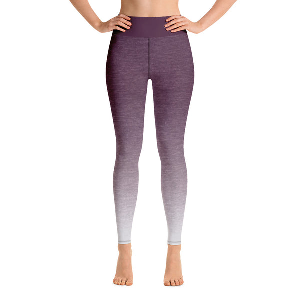 RTYM- Lavender Shadow Yoga Leggings - Shop: Resilience Through Yoga