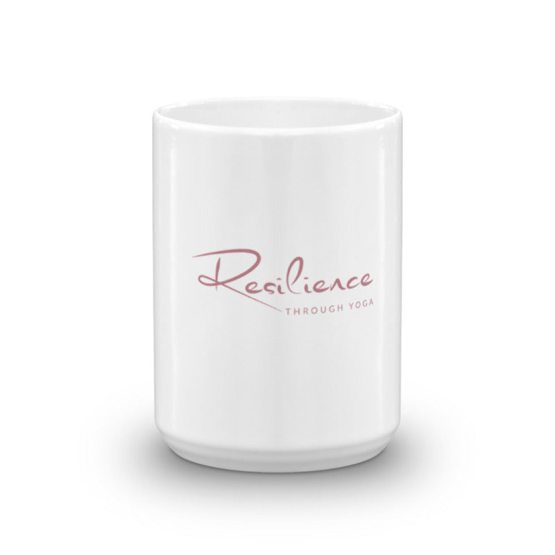 RESILIENCE THROUGH YOGA MUG