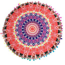 RTYM Round Mandala Pillows Case Cover - Shop: Resilience Through Yoga