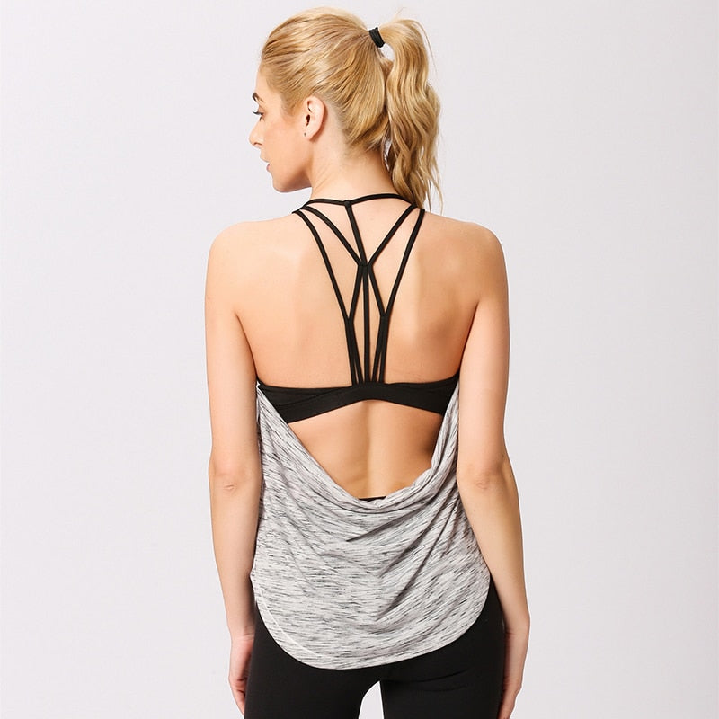 RTYM- Backless Women Sports Tanks Top - Shop: Resilience Through Yoga