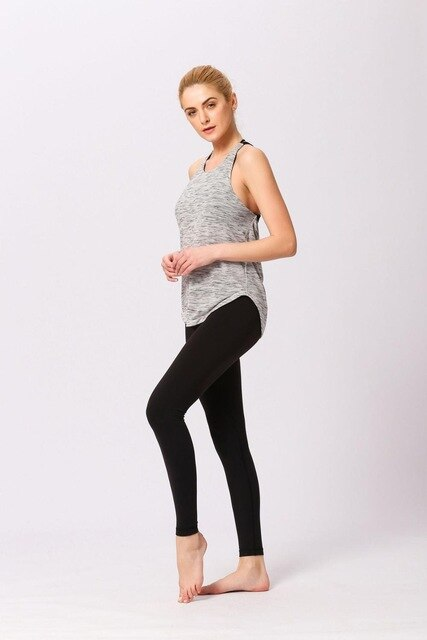 RTYM- Backless Women Sports Tanks Top