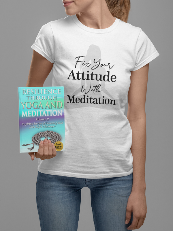 RTYM- Meditation- Attitude Adjustment Women's short sleeve t-shirt