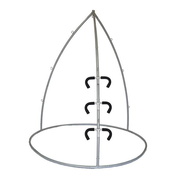 "Yoga Stand + Spring Trapeze - Silver (7'11""), Silver (8'2"") - Shop: Resilience Through Yoga"