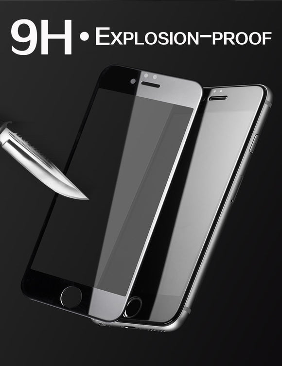 9D Tempered Glass For Iphone - RED ELEGENT