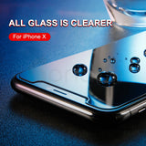 Anti-peeping Tempered Glass For iPhone - RED ELEGENT