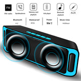 Wireless Portable Big Sound Stereo - RED ELEGENT