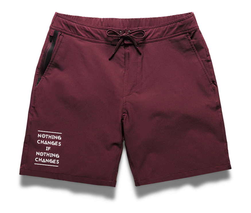 Foundation Short - Maroon