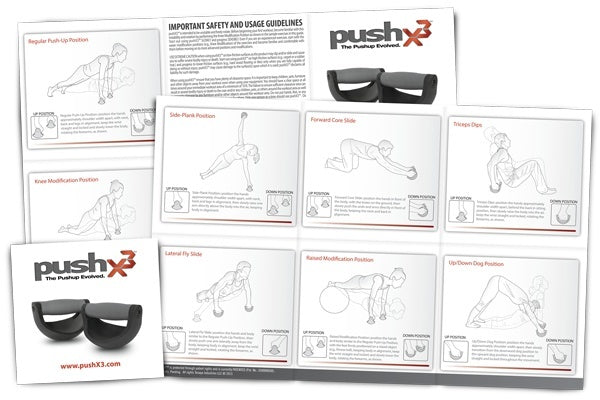 Fitness - PushX3 - The Pushup Evolved.