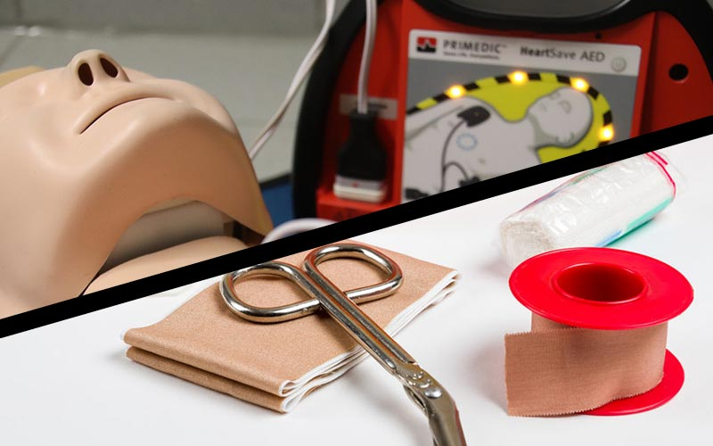 First Aid + CPR & AED Class