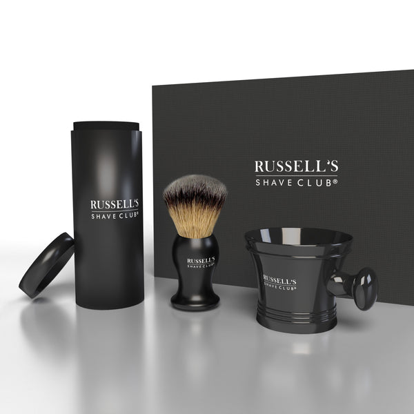 Shaving Brush & Bowl Gift Set