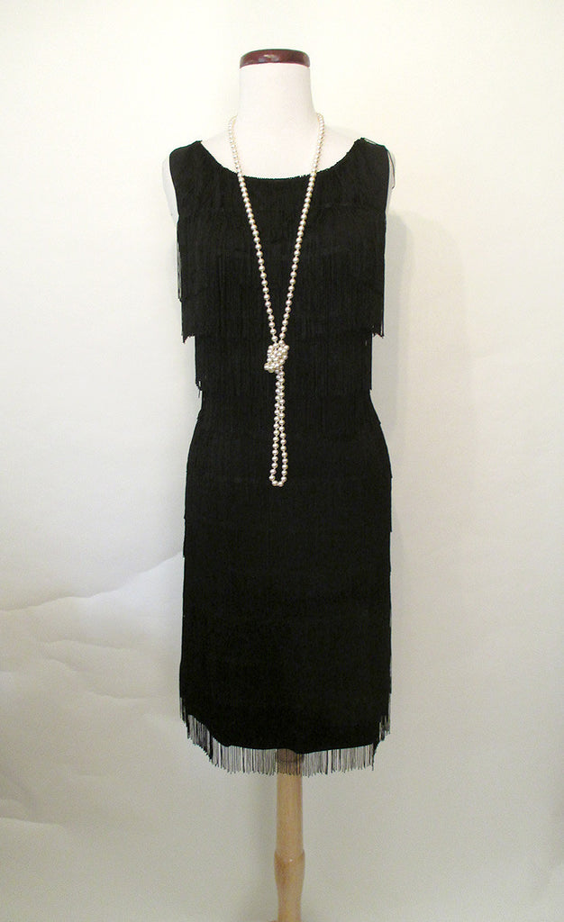"Classic 1960's  Style ""GO GO"" Fringed Party Dress"