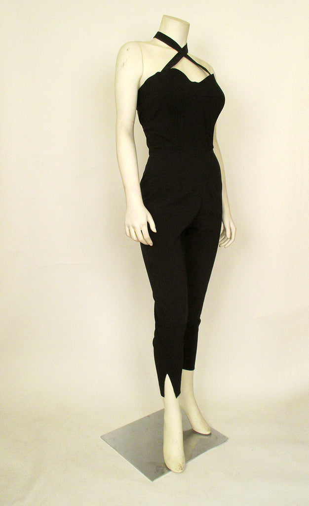 Black Retro Catsuit
