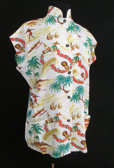Hawaiian Tea Timer Blouse