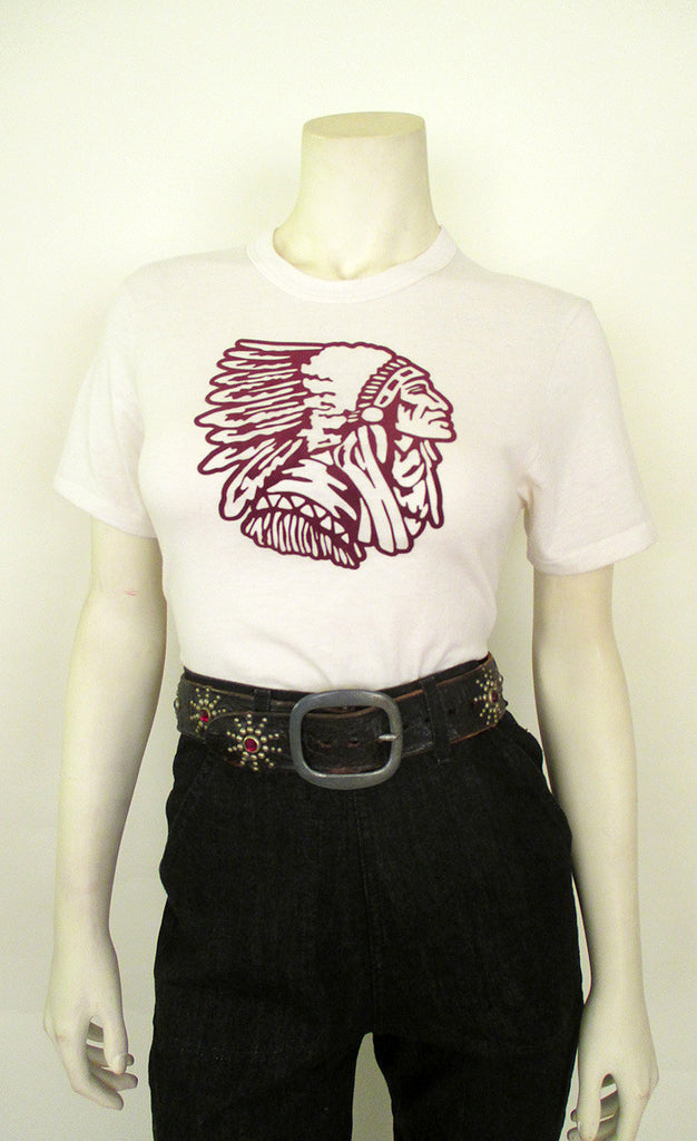 Vintage Indian Head Tee Shirt